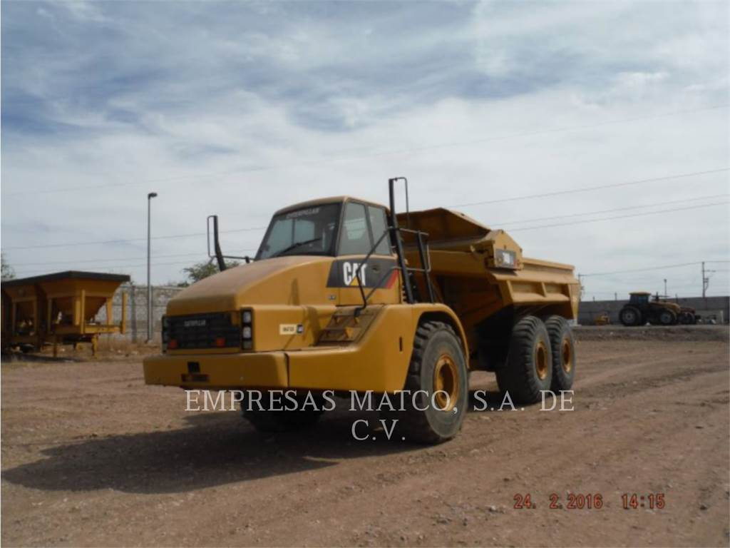 Caterpillar 740 EJECTOR, Articulated Dump Trucks (ADTs), Construction