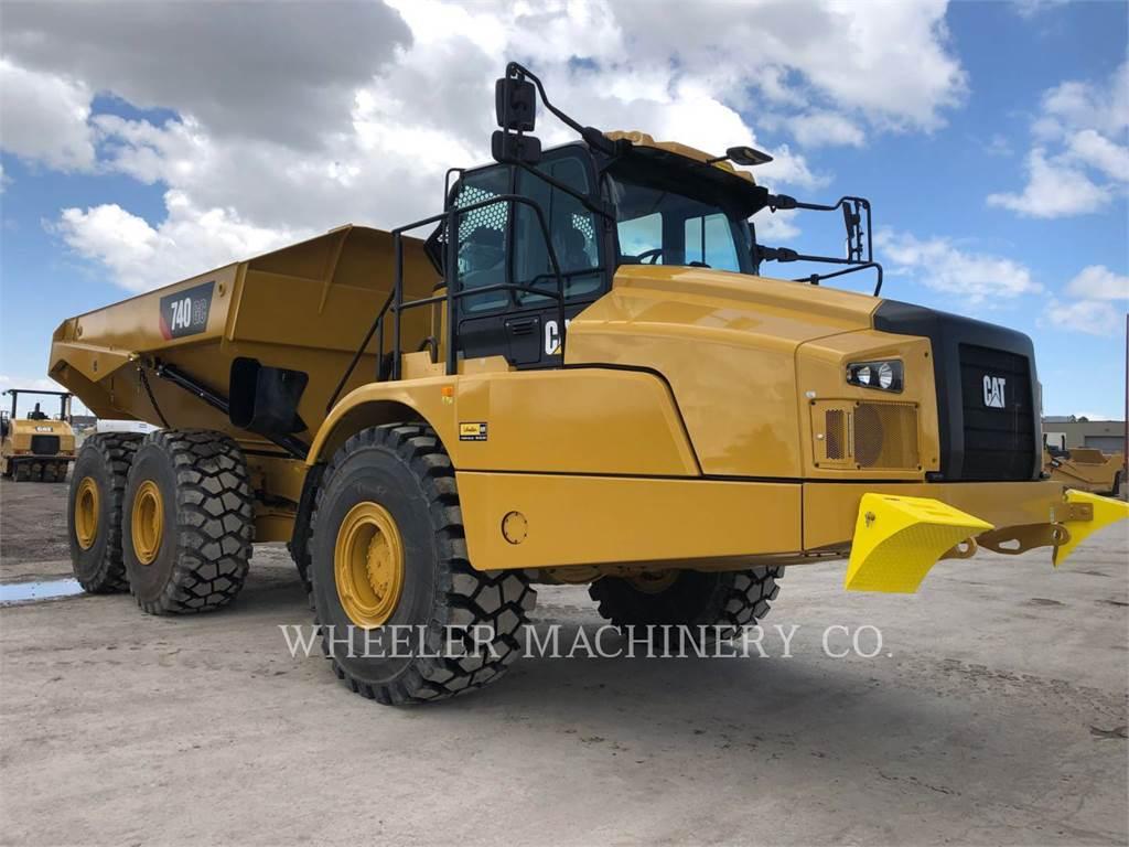 Caterpillar 740 GC, Articulated Dump Trucks (ADTs), Construction