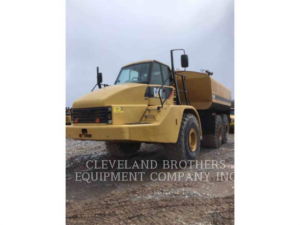 Caterpillar 740 WW, Water Tankers, Construction