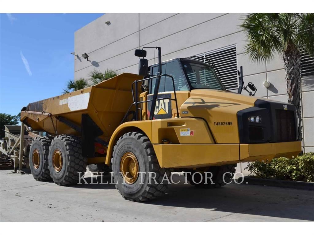 Caterpillar 740B, Tombereau articulé, Équipement De Construction