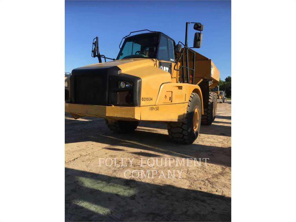 Caterpillar 740B, Articulated Dump Trucks (ADTs), Construction