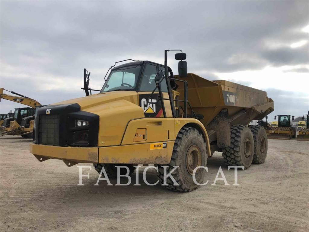 Caterpillar 740B, Camiões articulados, Equipamentos Construção