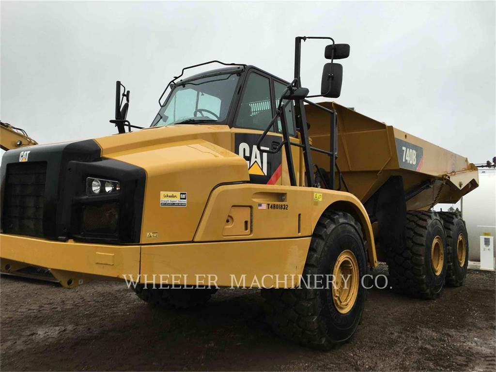 Caterpillar 740B TG, Dumper - Knickgelenk, Bau-Und Bergbauausrüstung