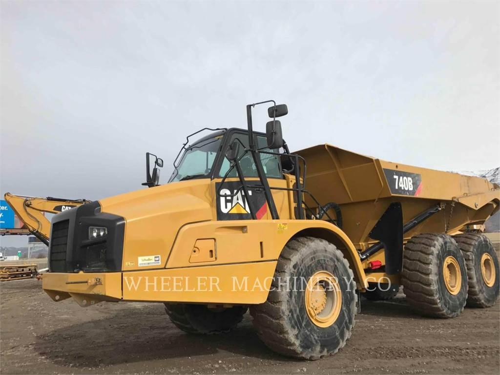 Caterpillar 740B TG, Tombereau articulé, Équipement De Construction