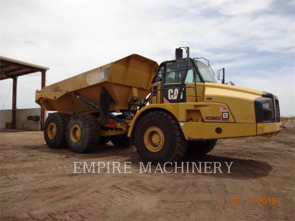 Caterpillar 740B TG, Articulated Dump Trucks (ADTs), Construction