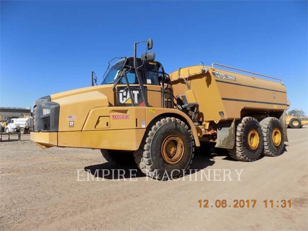 Caterpillar 740B WT, cisterne apă, Transport