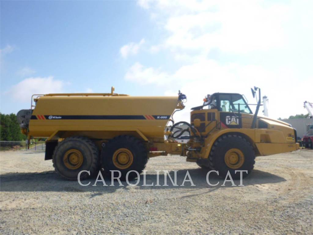 Caterpillar 740B WT, Articulated Dump Trucks (ADTs), Construction
