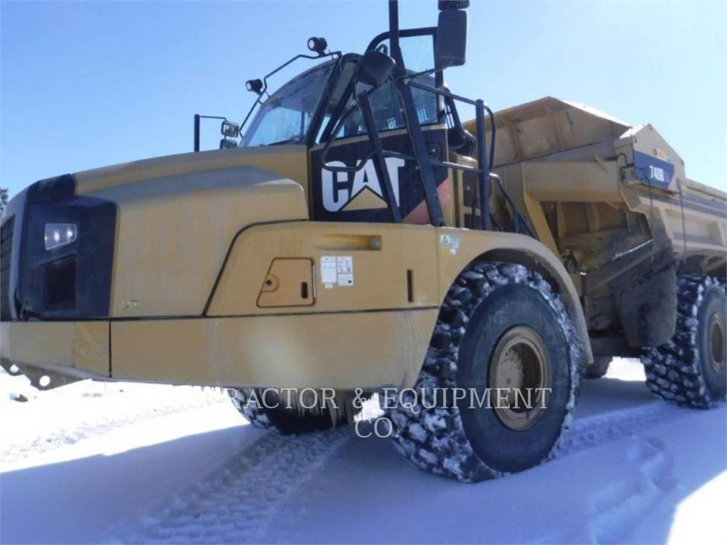 Caterpillar 740BEJ, Tombereau articulé, Équipement De Construction