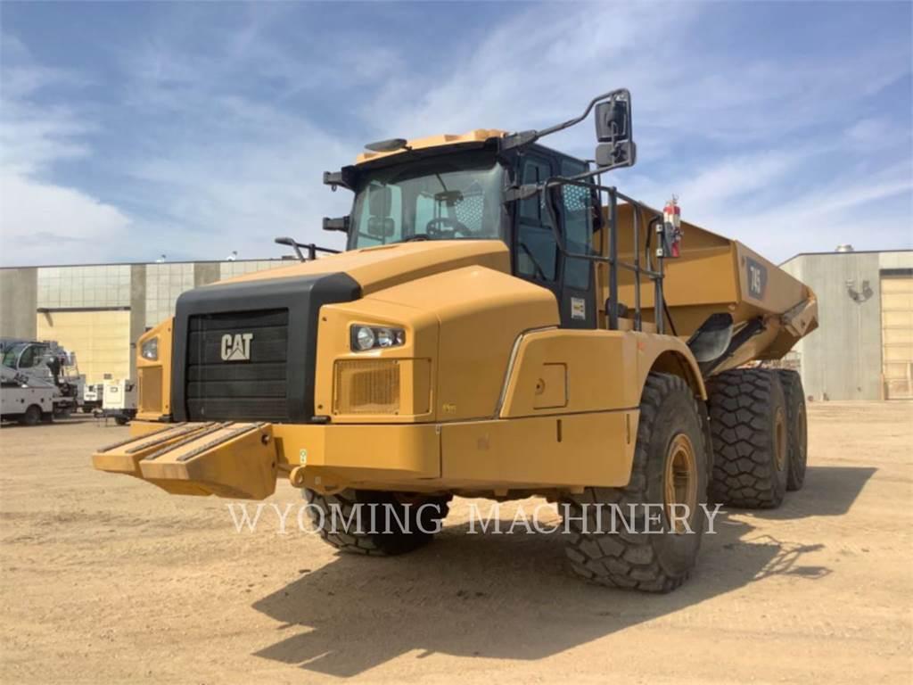 Caterpillar 745, Dumper - Knickgelenk, Bau-Und Bergbauausrüstung