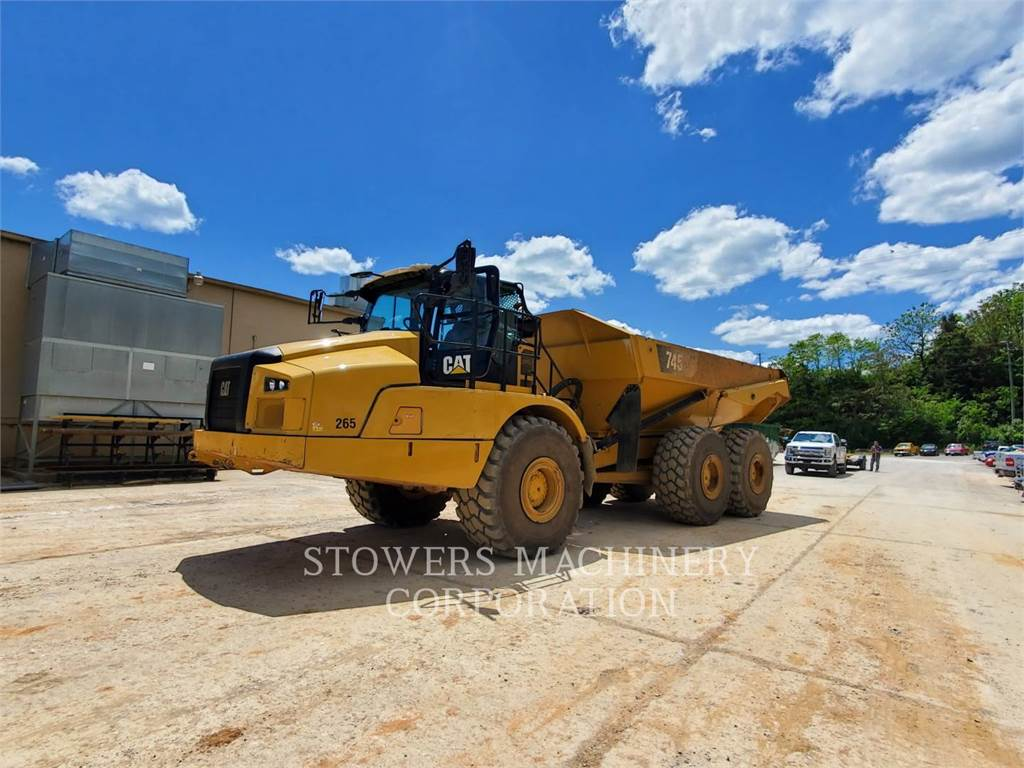 Caterpillar 745, Articulated Dump Trucks (ADTs), Construction