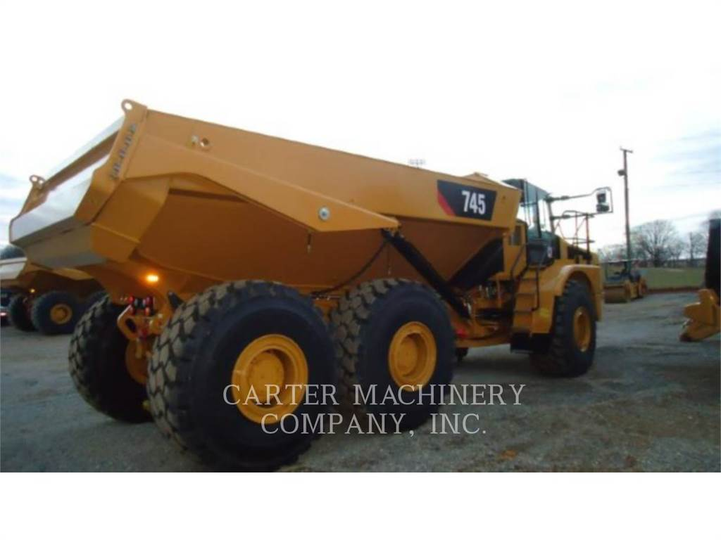 Caterpillar 745-04, Dumper - Knickgelenk, Bau-Und Bergbauausrüstung