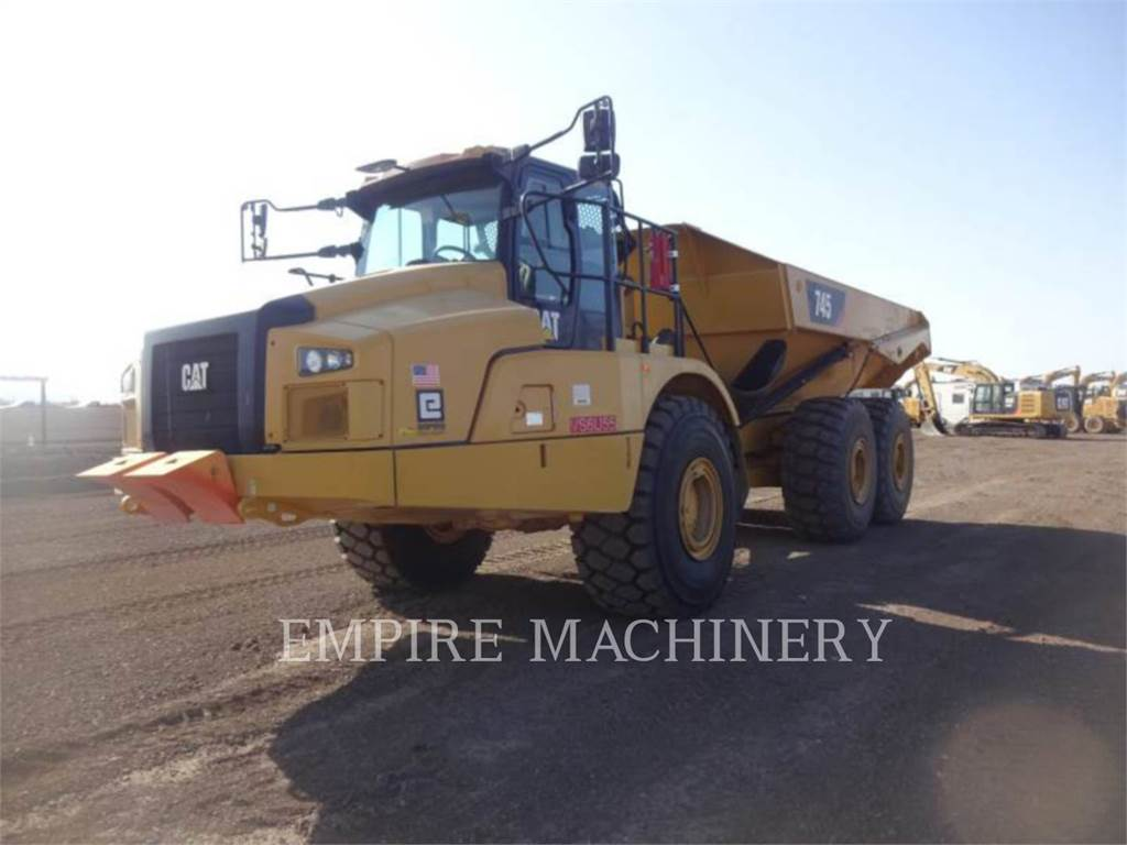 Caterpillar 745-04, Articulated Dump Trucks (ADTs), Construction