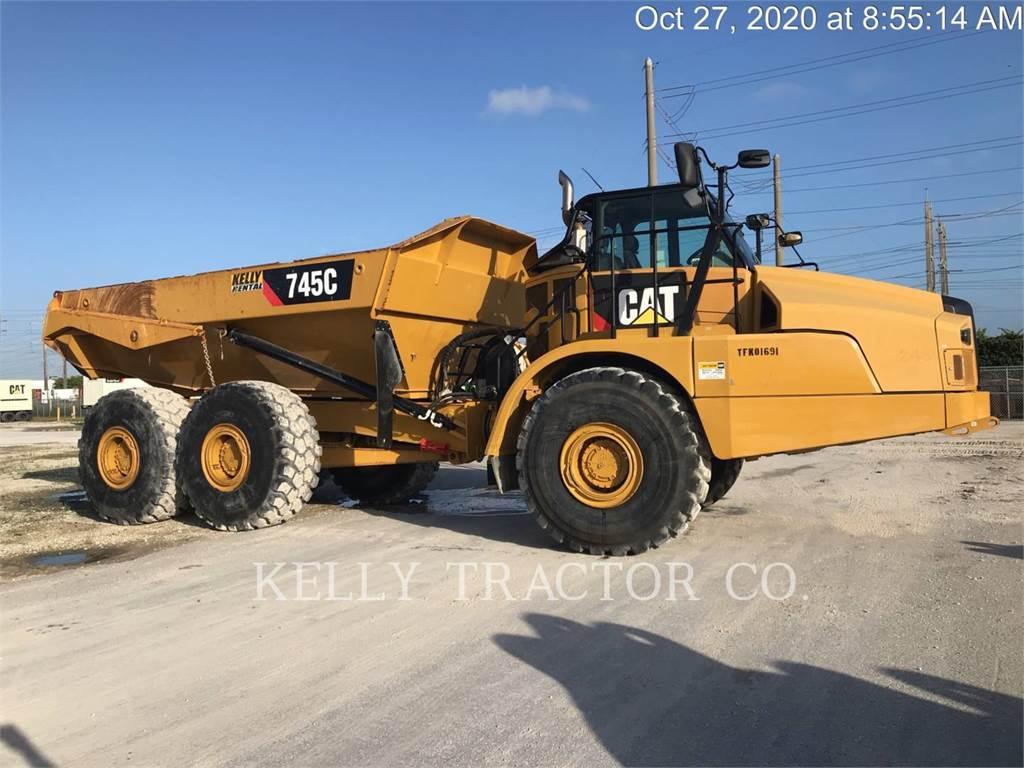 Caterpillar 745 C, Articulated Dump Trucks (ADTs), Construction