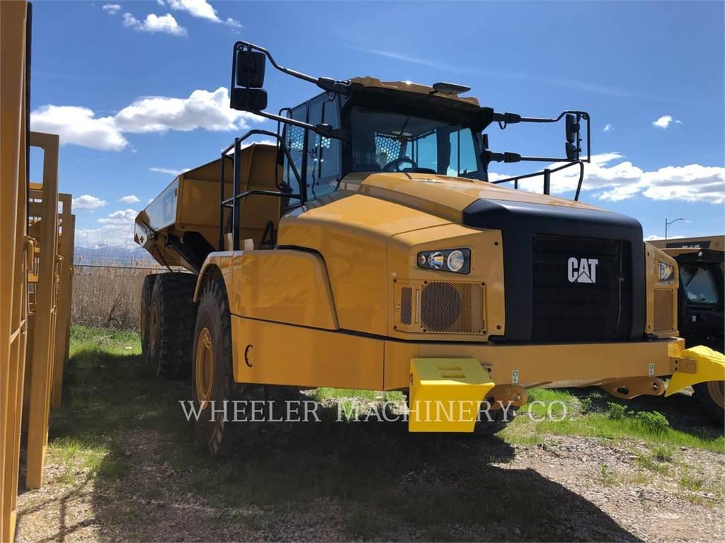 Caterpillar 745 TG、铰接式自卸车、建筑设备