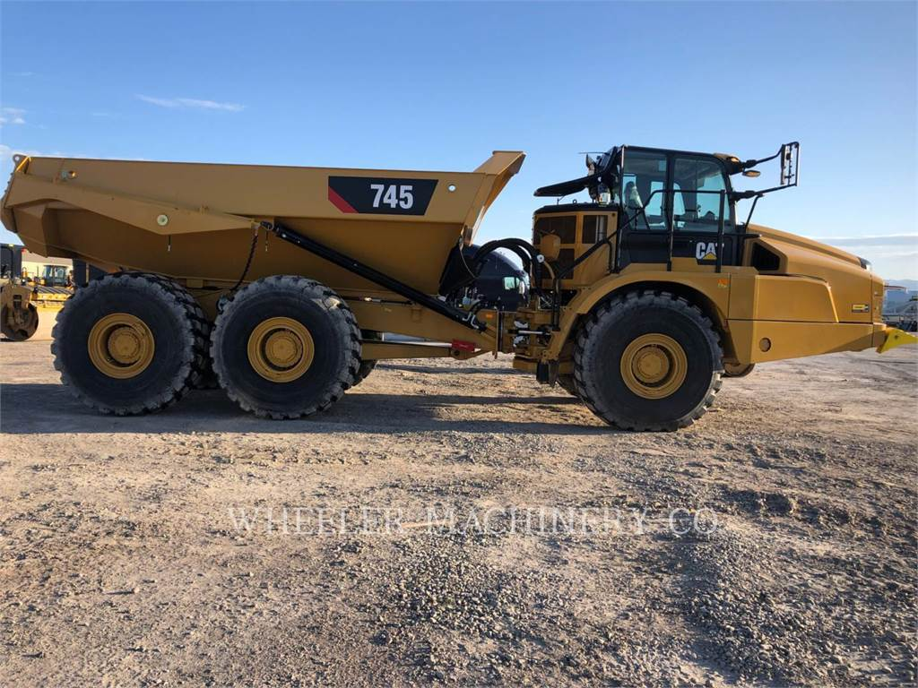 Caterpillar 745 TG, Articulated Dump Trucks (ADTs), Construction