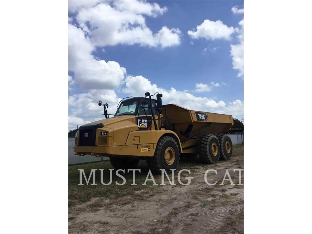 Caterpillar 745C, Articulated Dump Trucks (ADTs), Construction