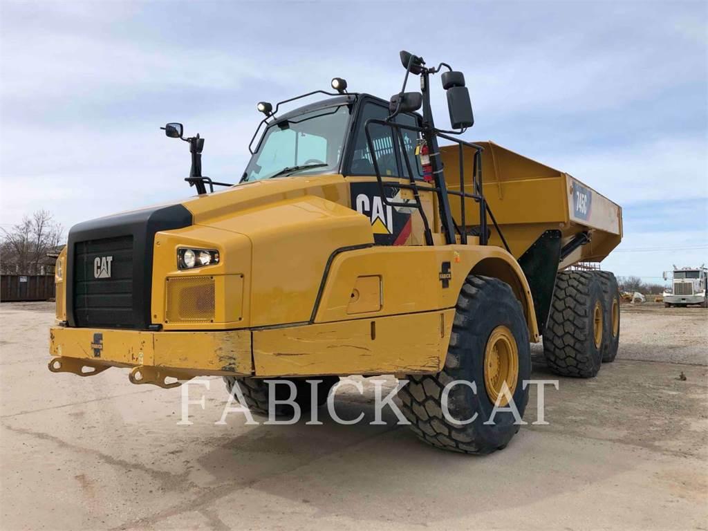 Caterpillar 745C, Camiões articulados, Equipamentos Construção