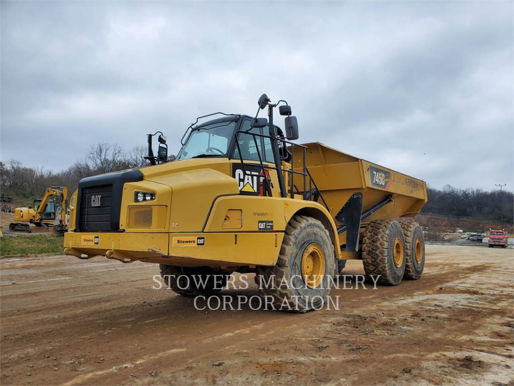 Caterpillar 745C, Articulated Dump Trucks (ADTs), Construction