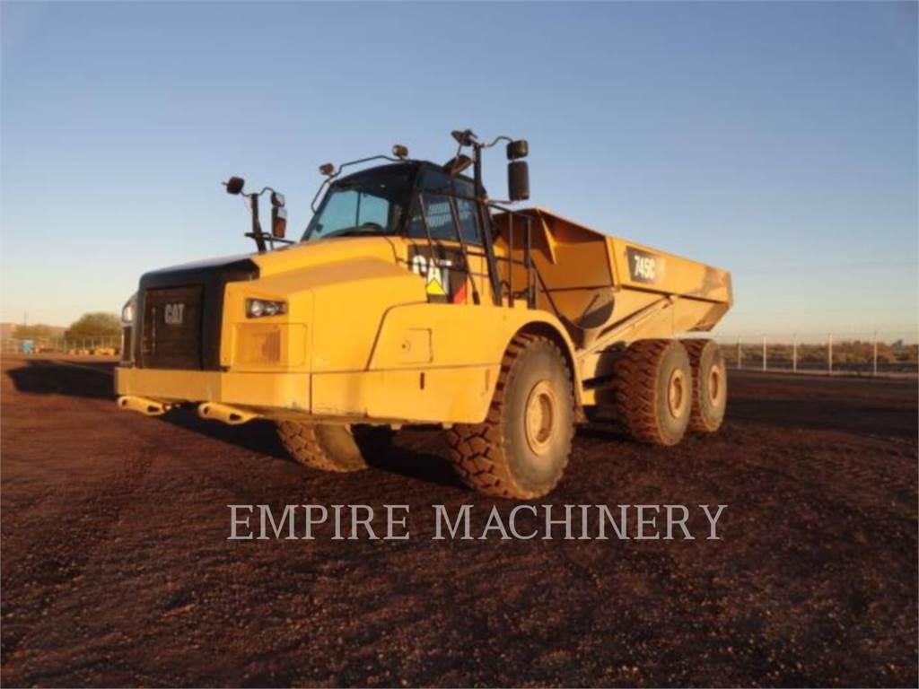 Caterpillar 745C, water trucks, Transport