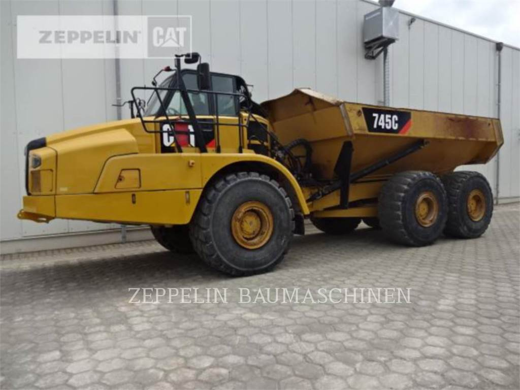 Caterpillar 745C, Dumpers articolati, Attrezzature Da Costruzione