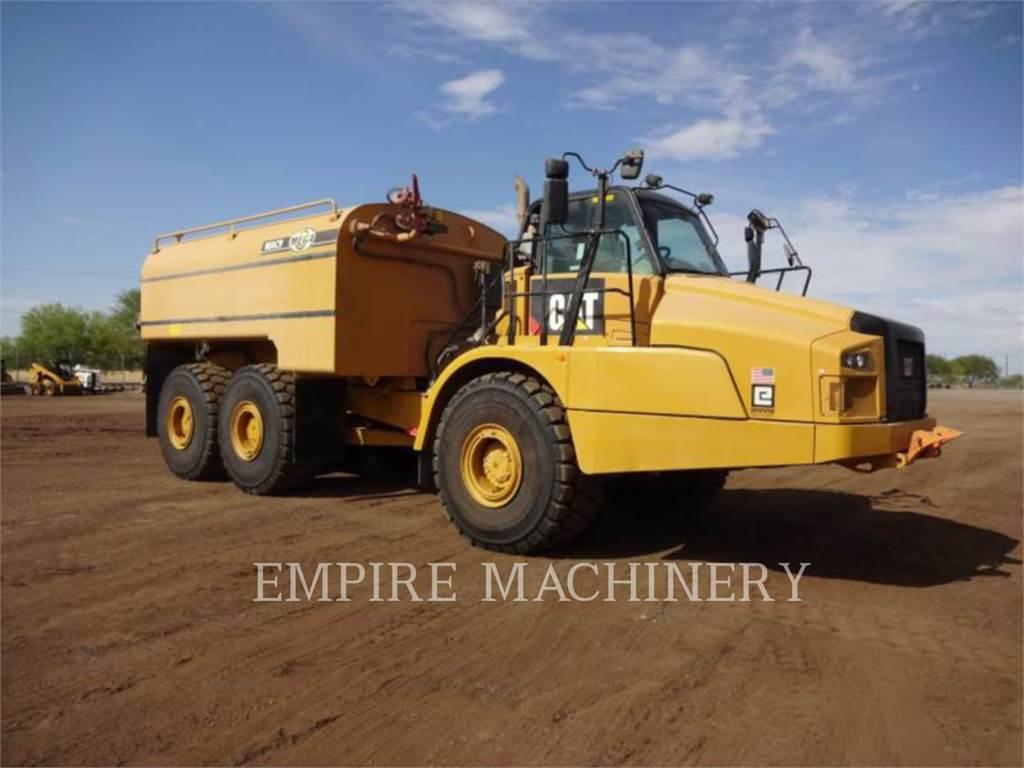 Caterpillar 745C, Caminhões-cisterna, Transporte
