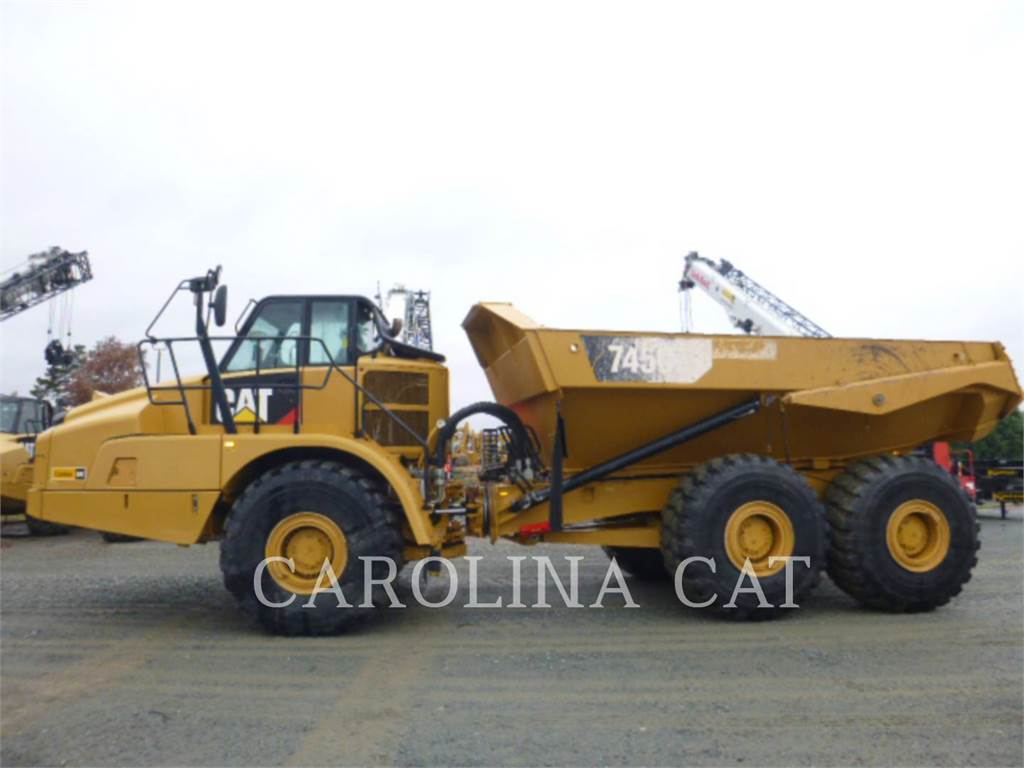 Caterpillar 745C TG, Articulated Dump Trucks (ADTs), Construction