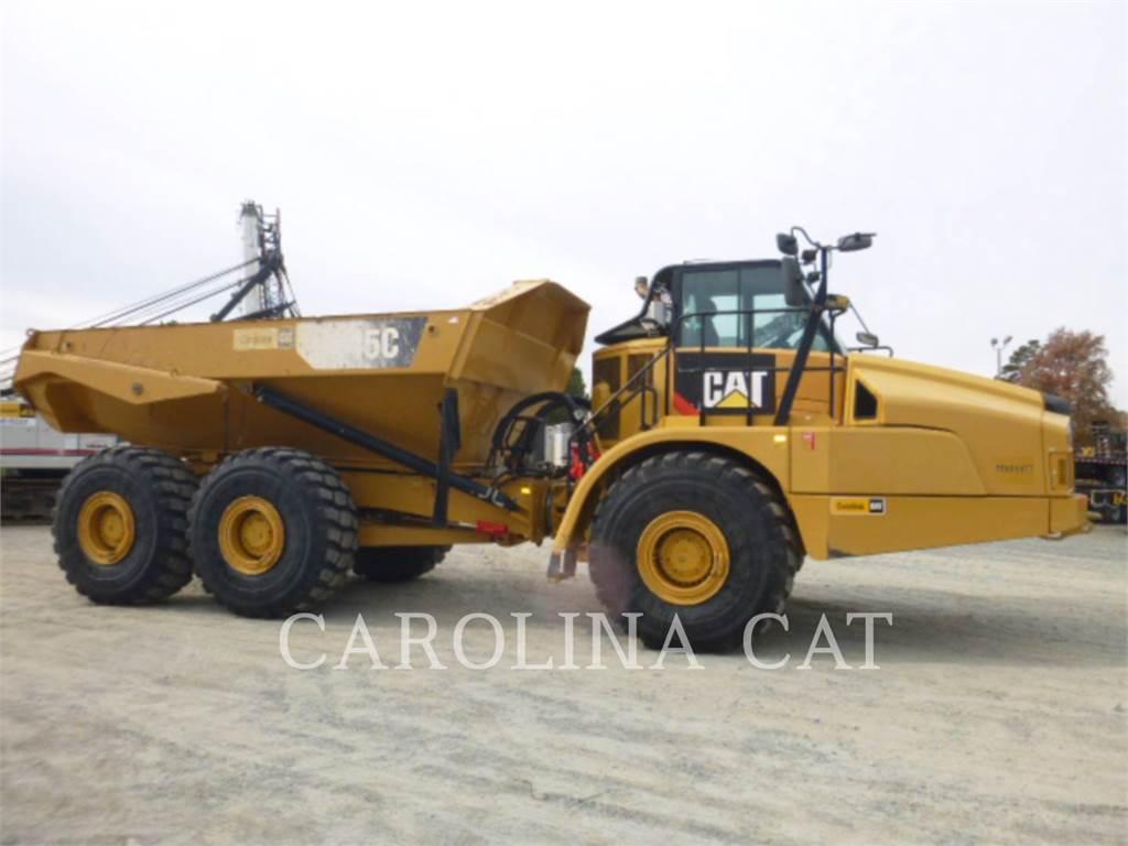 Caterpillar 745C TG, Articulated Dump Trucks (ADTs), Construction