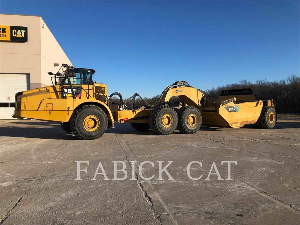 Caterpillar 745C W/MT35 LGP PANS, Scrapers, Construction