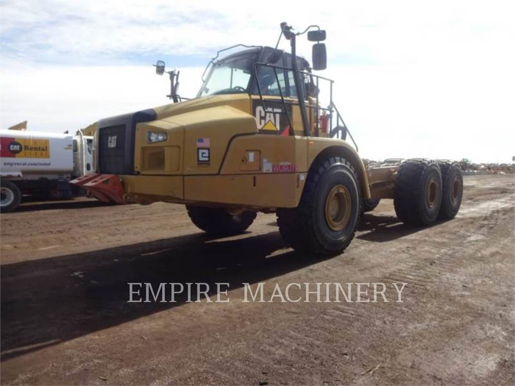 Caterpillar 745C WT, Articulated Dump Trucks (ADTs), Construction