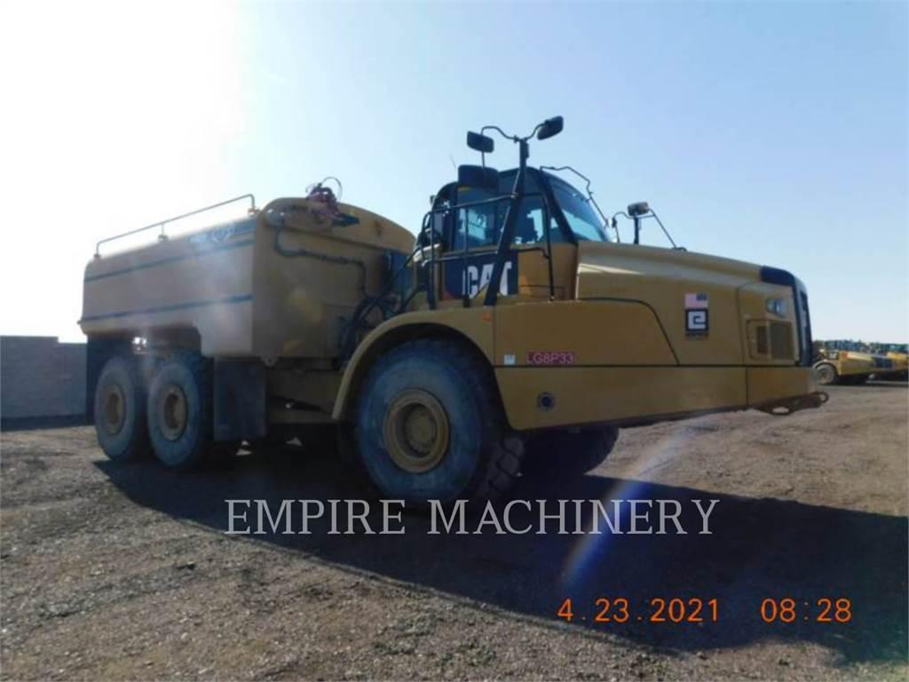 Caterpillar 745C WT, Transportoare articulate, Constructii