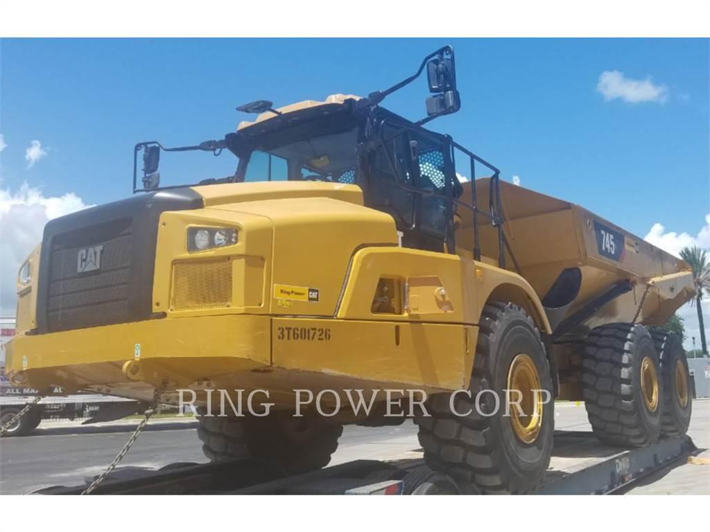 Caterpillar 745TG, Articulated Dump Trucks (ADTs), Construction