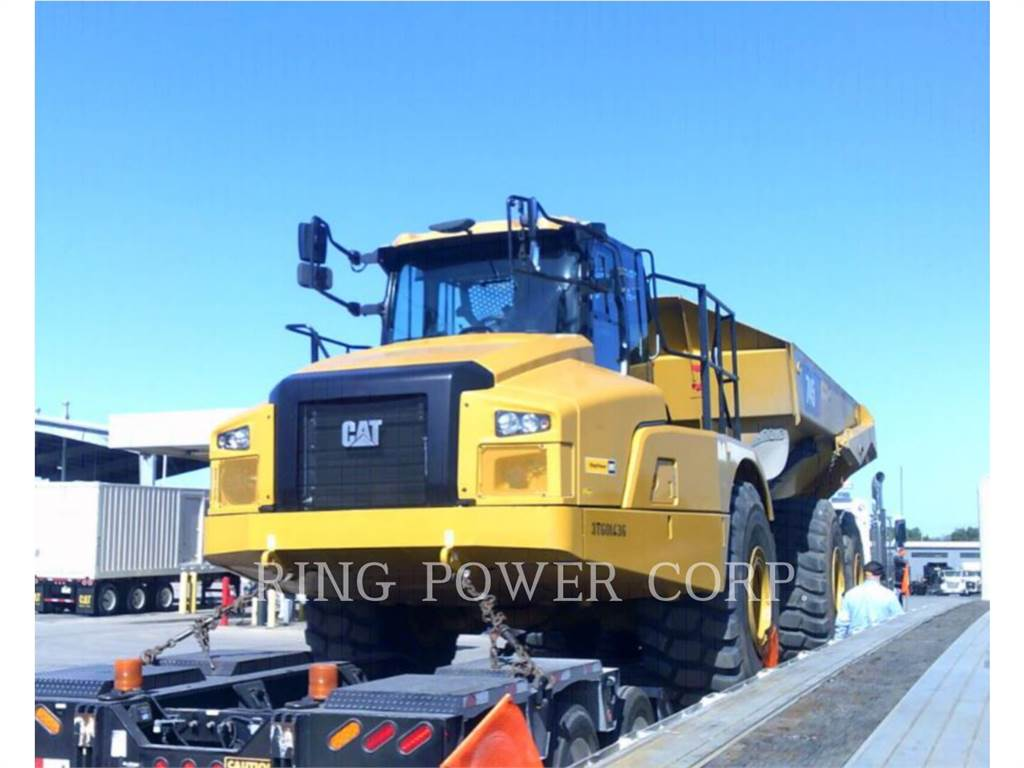 Caterpillar 745TG、铰接式自卸车、建筑设备