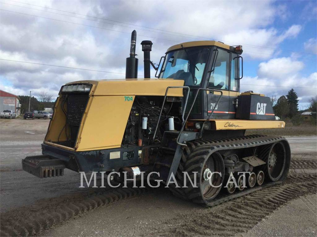 Caterpillar 75D, tracteurs agricoles, Agricole