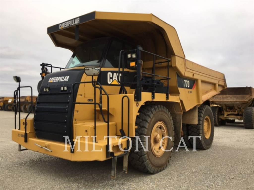 Caterpillar 770, Articulated Dump Trucks (ADTs), Construction