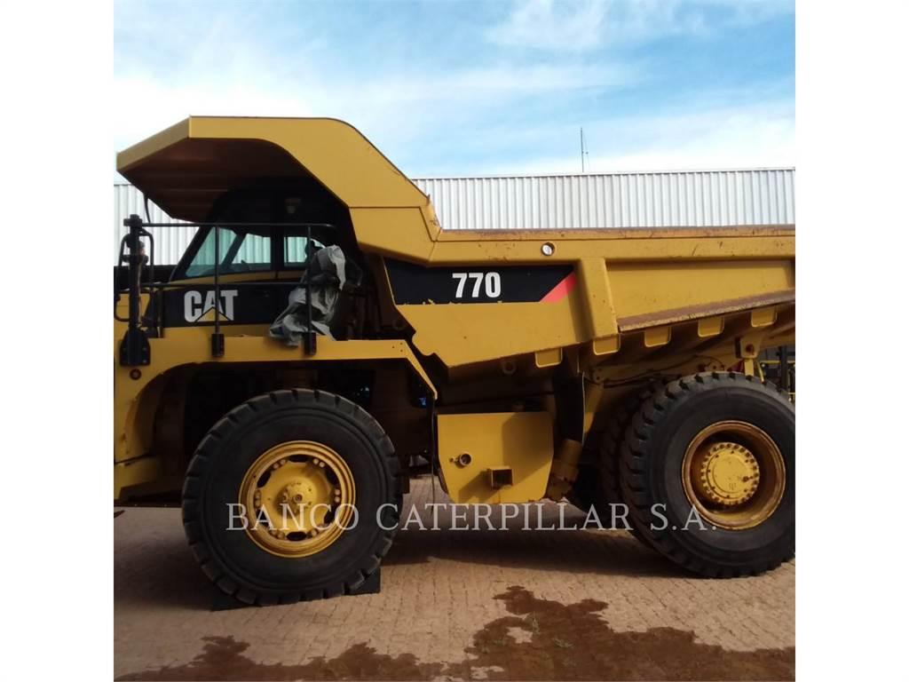 Caterpillar 770, Camiões articulados, Equipamentos Construção