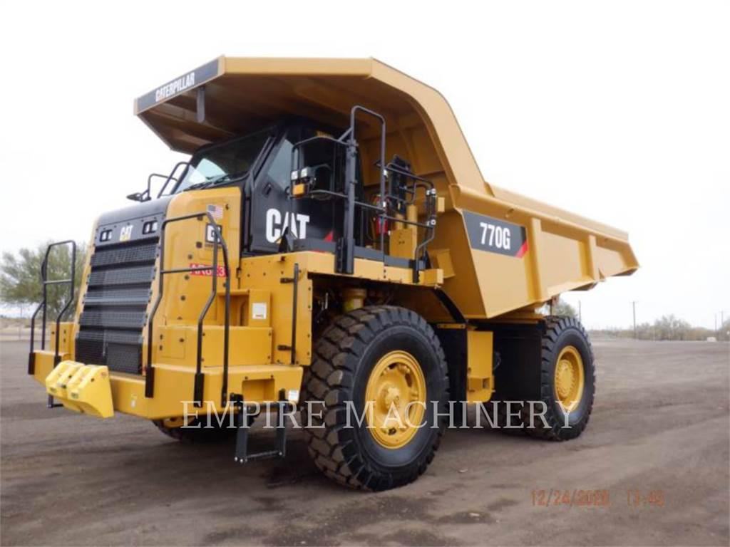 Caterpillar 770G, Articulated Dump Trucks (ADTs), Construction