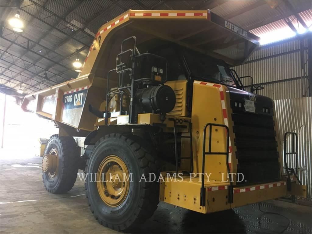 Caterpillar 770GLRC, Transportoare articulate, Constructii