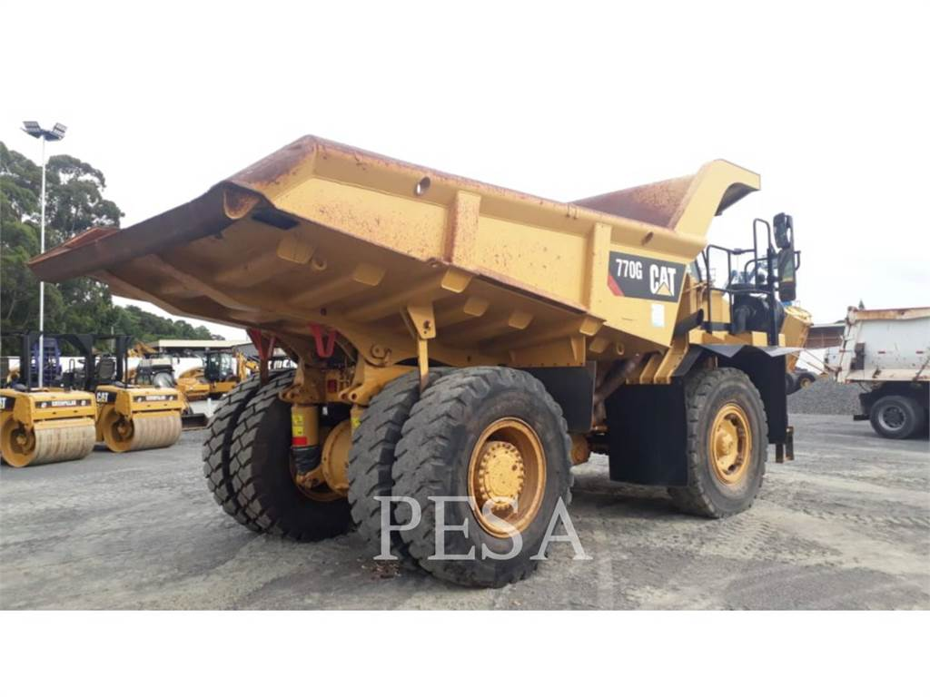 Caterpillar 770GLRC, Articulated Dump Trucks (ADTs), Construction