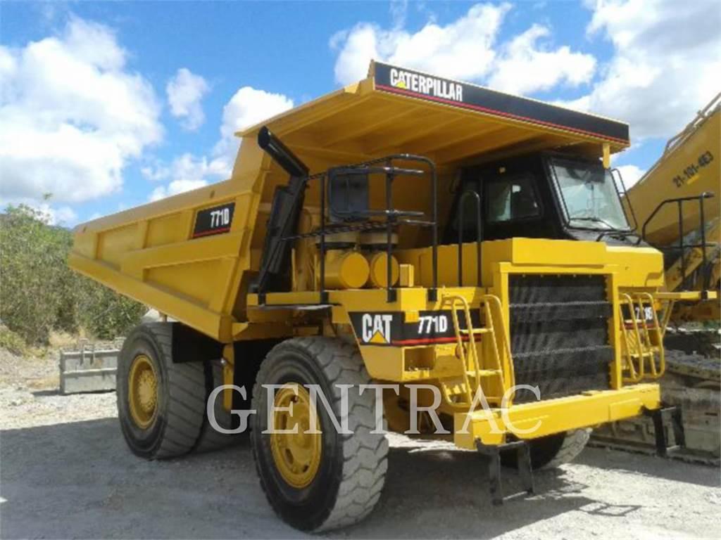 Caterpillar 771D, Articulated Dump Trucks (ADTs), Construction