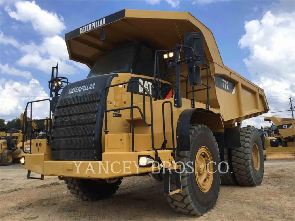 Caterpillar 772, Articulated Dump Trucks (ADTs), Construction