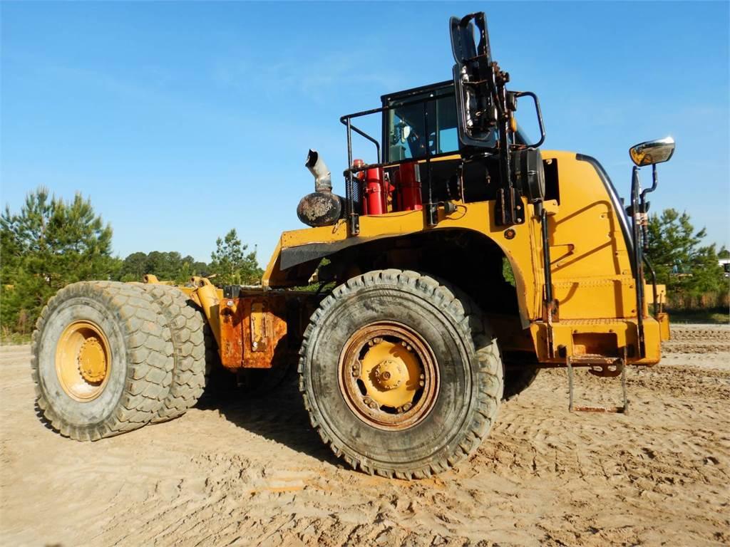 Caterpillar 772, Transportoare articulate, Constructii