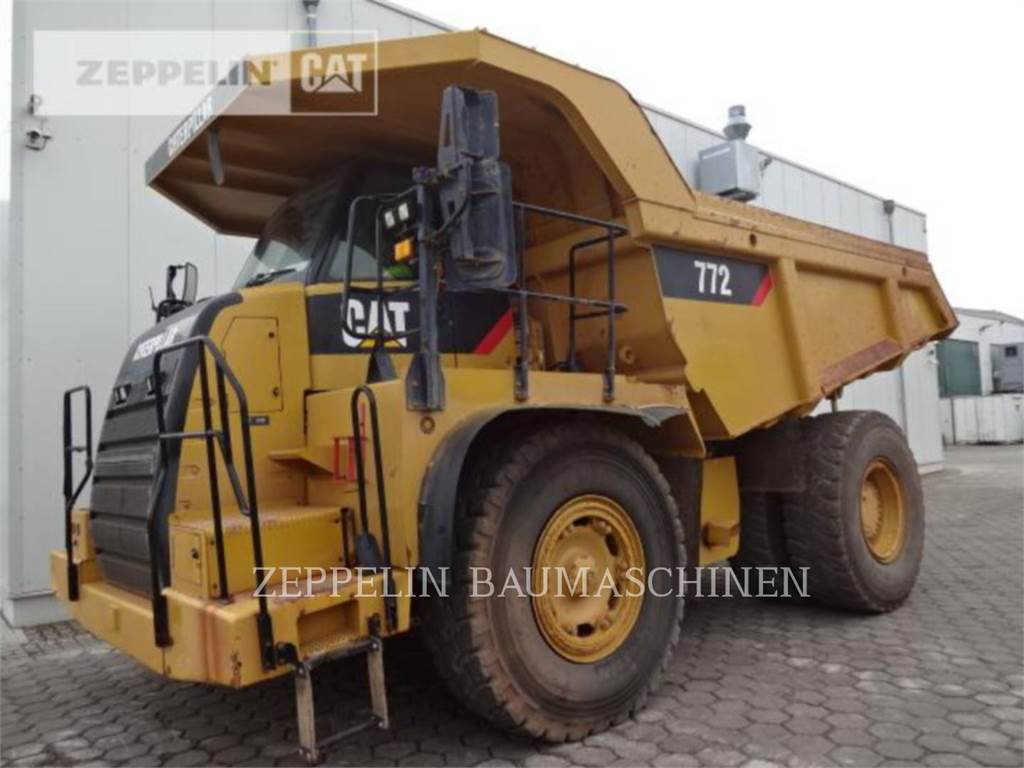 Caterpillar 772, Transportoare articulate, Constructii