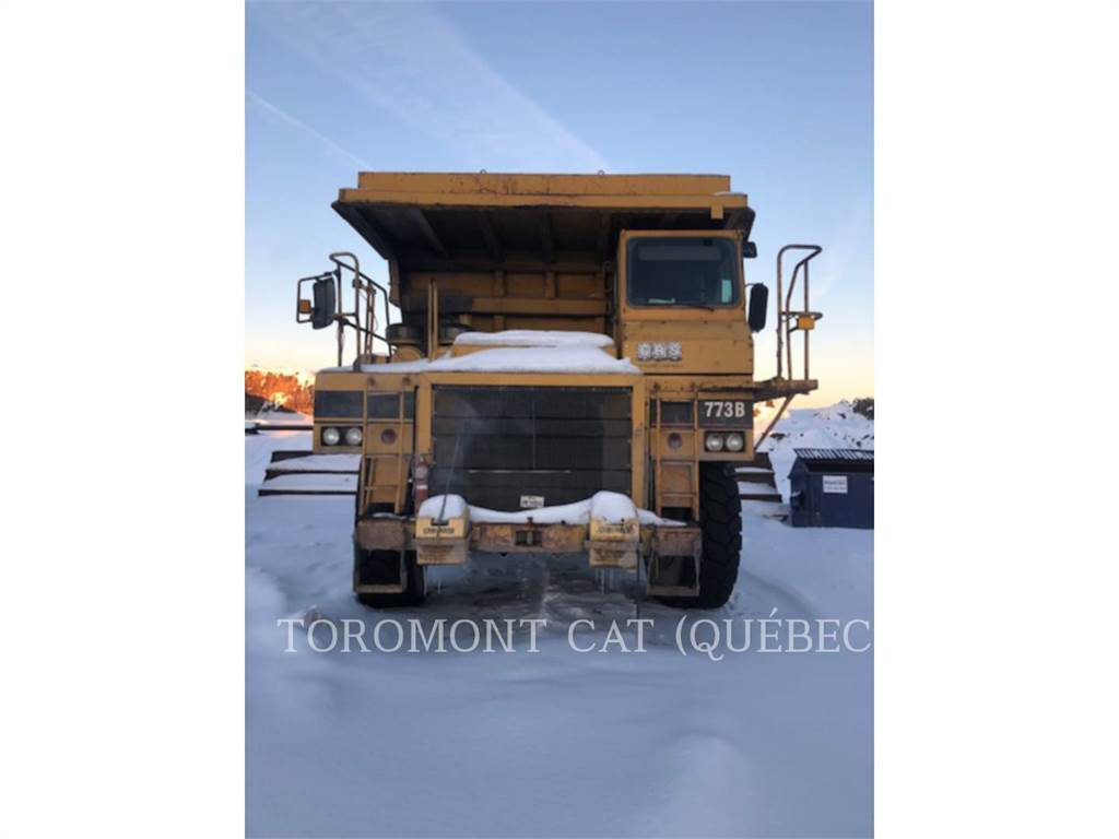 Caterpillar 773B, Transportoare articulate, Constructii