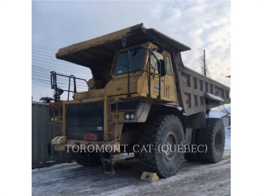 Caterpillar 773B, Articulated Dump Trucks (ADTs), Construction