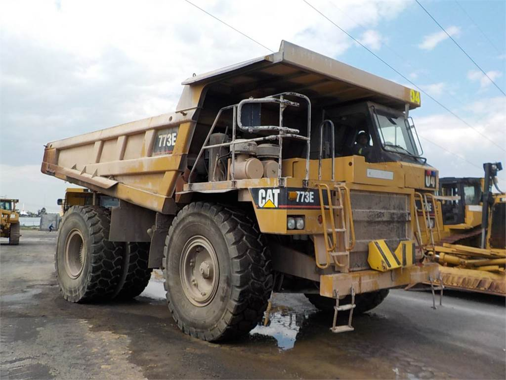 Caterpillar 773E, Dumper - Knickgelenk, Bau-Und Bergbauausrüstung