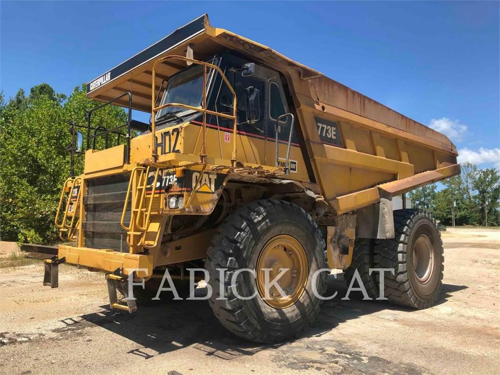 Caterpillar 773E、铰接式自卸车、建筑设备