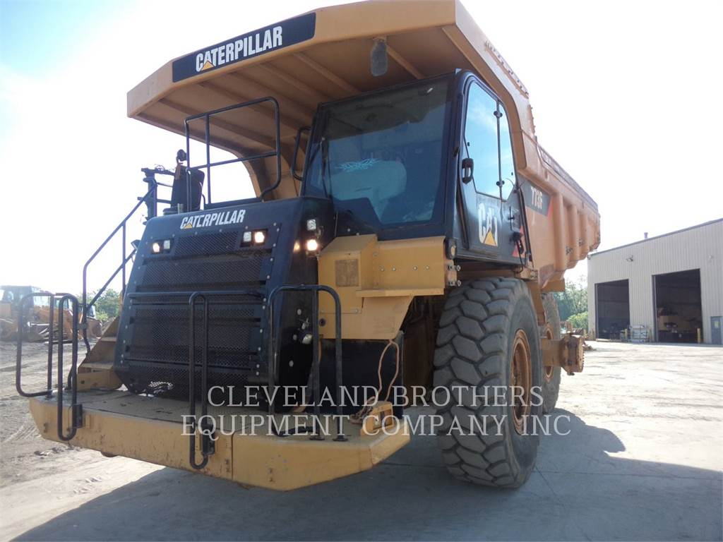 Caterpillar 773F, Knik dumptrucks, Bouw