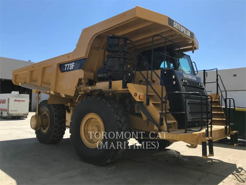 Caterpillar 773F, Dumper - Knickgelenk, Bau-Und Bergbauausrüstung