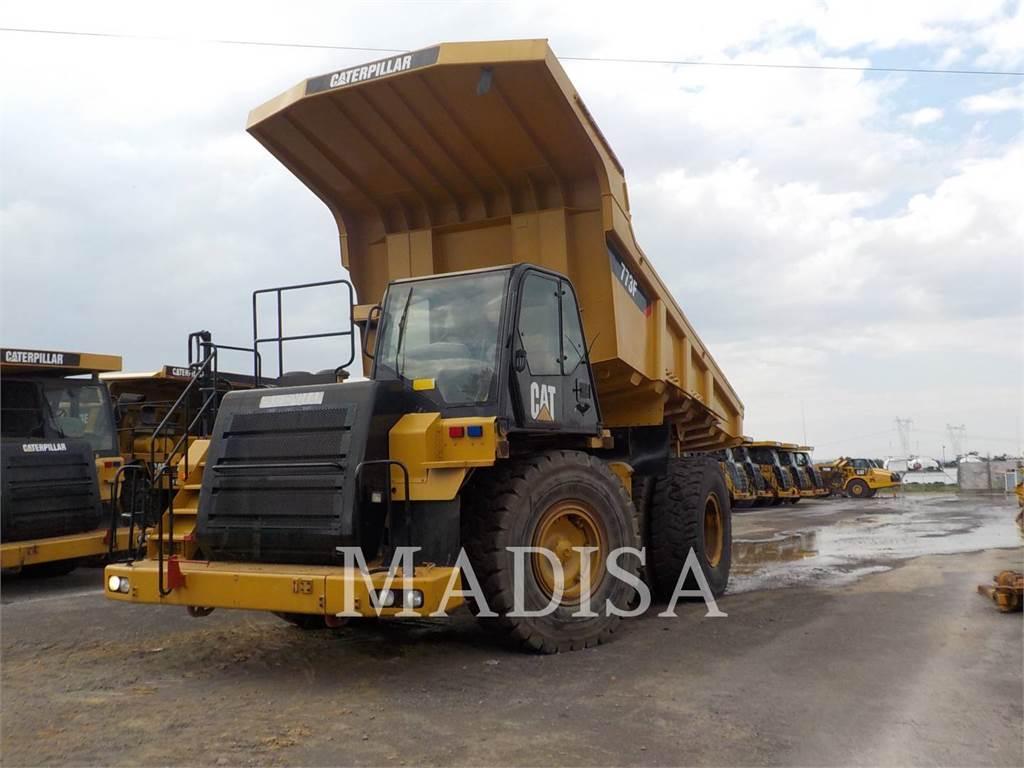 Caterpillar 773F, Camiões articulados, Equipamentos Construção