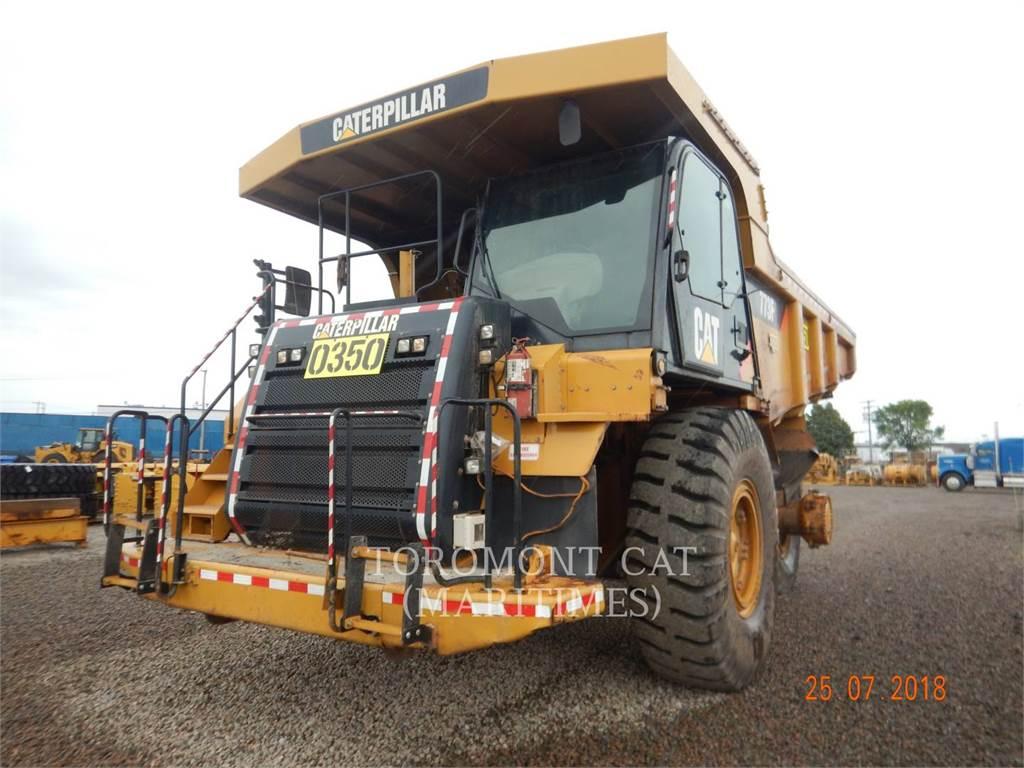 Caterpillar 773F、铰接式自卸车、建筑设备